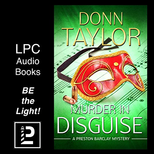 Murder in Disguise audiobook cover art