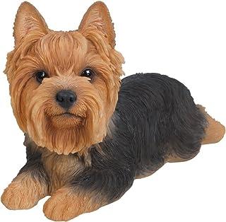 Best Hi-Line Gift Ltd Yorkshire Terrier Dog Lying Down Statue Review