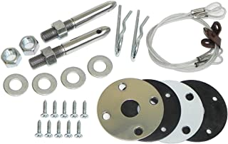 Inline Tube (H-7-3) Hood Hold Down Set Compatible with 1970-72 Chevrolet Chevelle