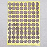 Circle Match Strikers 1.00' - Dotted - 100 Pieces