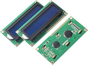 2pcs LCD1602 Screen with Backlight LCD Display Module Board 2 x 16 Characters 1602-5v fit Arduino Duemilanove Robot 1602A