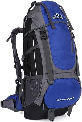 Hwjianfeng Größes Fassungsverm n Bergsteigen backpack-55l, Unisex