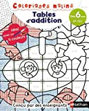 Tables d'addition CP-CE1 (Coloriages malins)