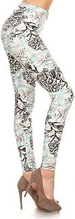 Leggings Depot Women`s Popular Fashion Print Leggings BAT3