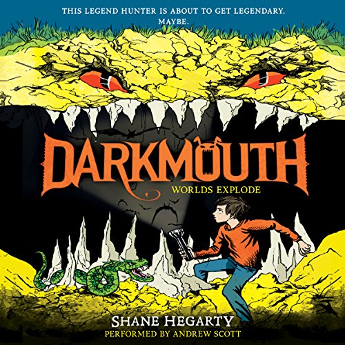 Darkmouth #2: Worlds Explode audiobook cover art