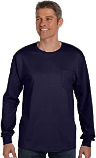6.1 oz. Tagless ComfortSoft Long-Sleeve Pocket T-Shirt