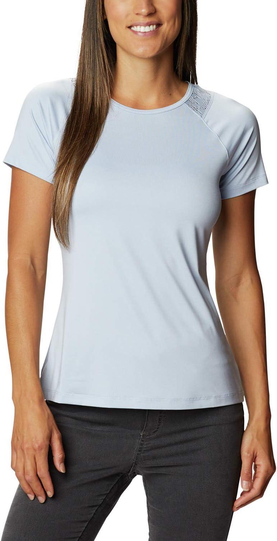 T-Shirt /à Manches Courtes pour Femmes Columbia Peak to Point II