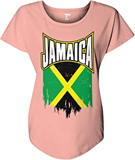 Torn Jamaica Flag - Kingston Rasta Women's Dolman