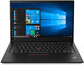 "2020 Lenovo ThinkPad X1 Carbon Gen 7 14"" FHD Business Laptop Computer, 10th Gen Intel Quard-Core i5-10210U, 8GB RAM, 256GB..."