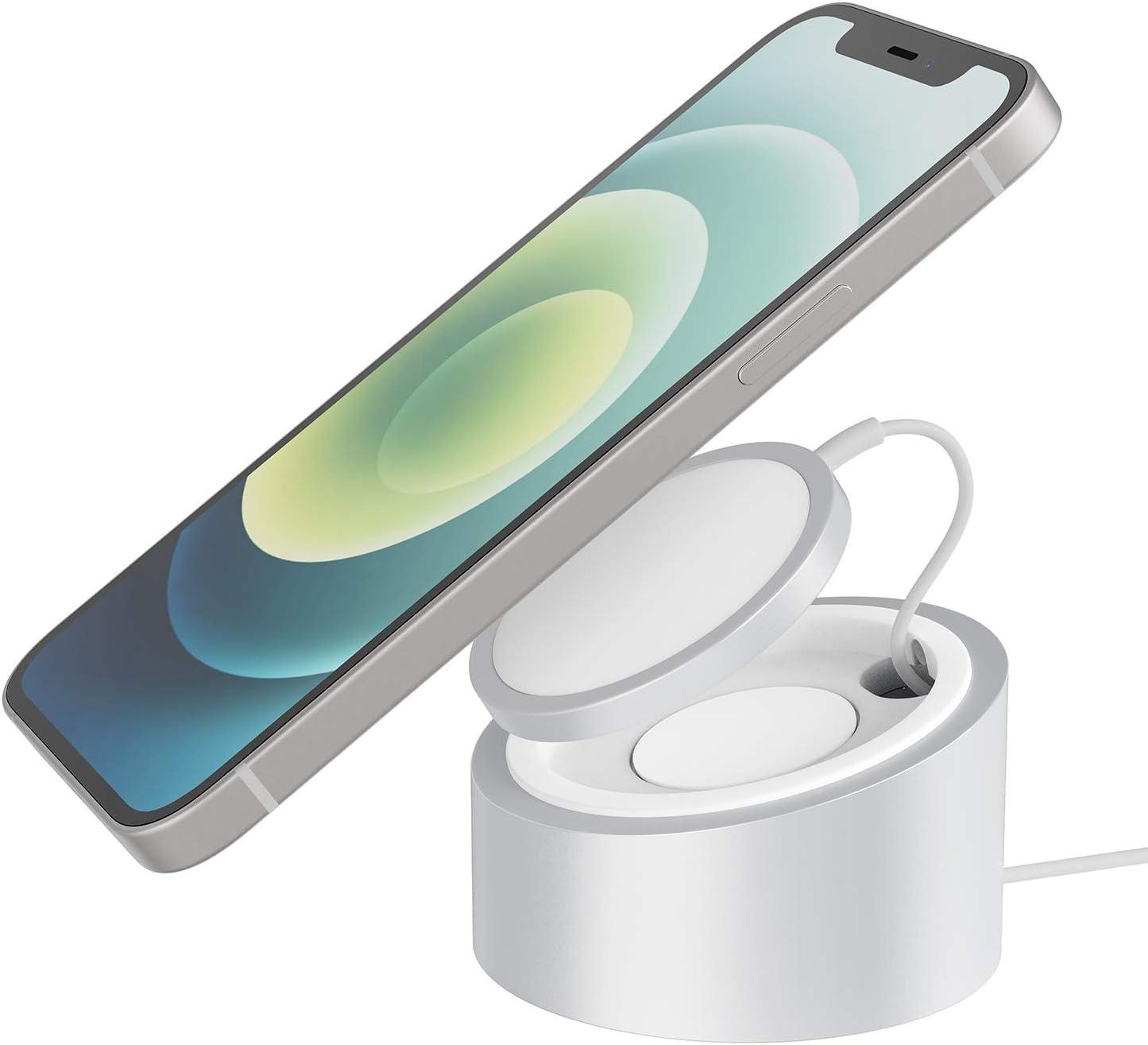 Stouch Magnetic - Soporte de Carga de 326 g, Soporte de Metal, Compatible con Cargador magnético mag para iPhone 12 (no Incluye Cargador mag en Paquete)