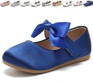 CIOR Toddler Girls Ballet Flots کفش Ballerina Bowknot جین ماری عروسی عروسی لباس شاهزاده خانم