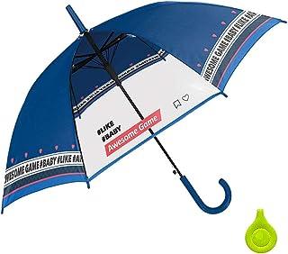 女の子 子供傘 キッズ傘 55cm ジャンプ傘 長傘 リフレクター付き オーサムゲーム