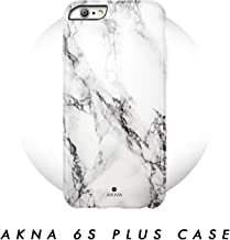 iPhone 6 Plus/iPhone 6s Plus case, Marble Pattern, Akna Hard Silicon Back Cover for Girls (36-U.S)