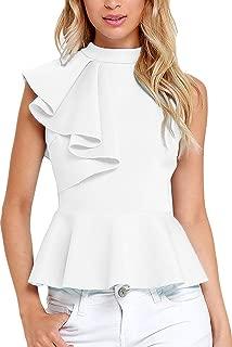 Best silk ruffle blouse Reviews