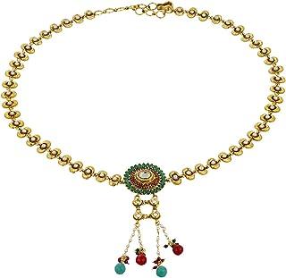 Vama Fashions Traditional Gold Plated Kamar Patta/KamarBand/Waist Belt.