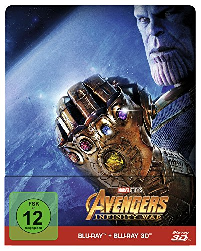Avengers - Infinity War - Steelbook/Limited Edition (+ Blu-ray 2D)