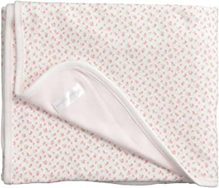 Ralph Lauren Baby Baby Girl's Printed Interlock Floral Blanket (Infant) White Multi Floral/White One Size