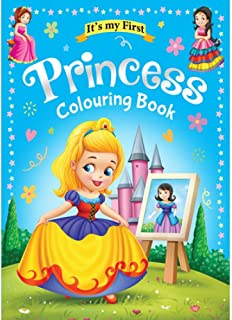 Colouring Book 64 Pages size 28 X 21.6 cm Made in Malaysia (Princess)