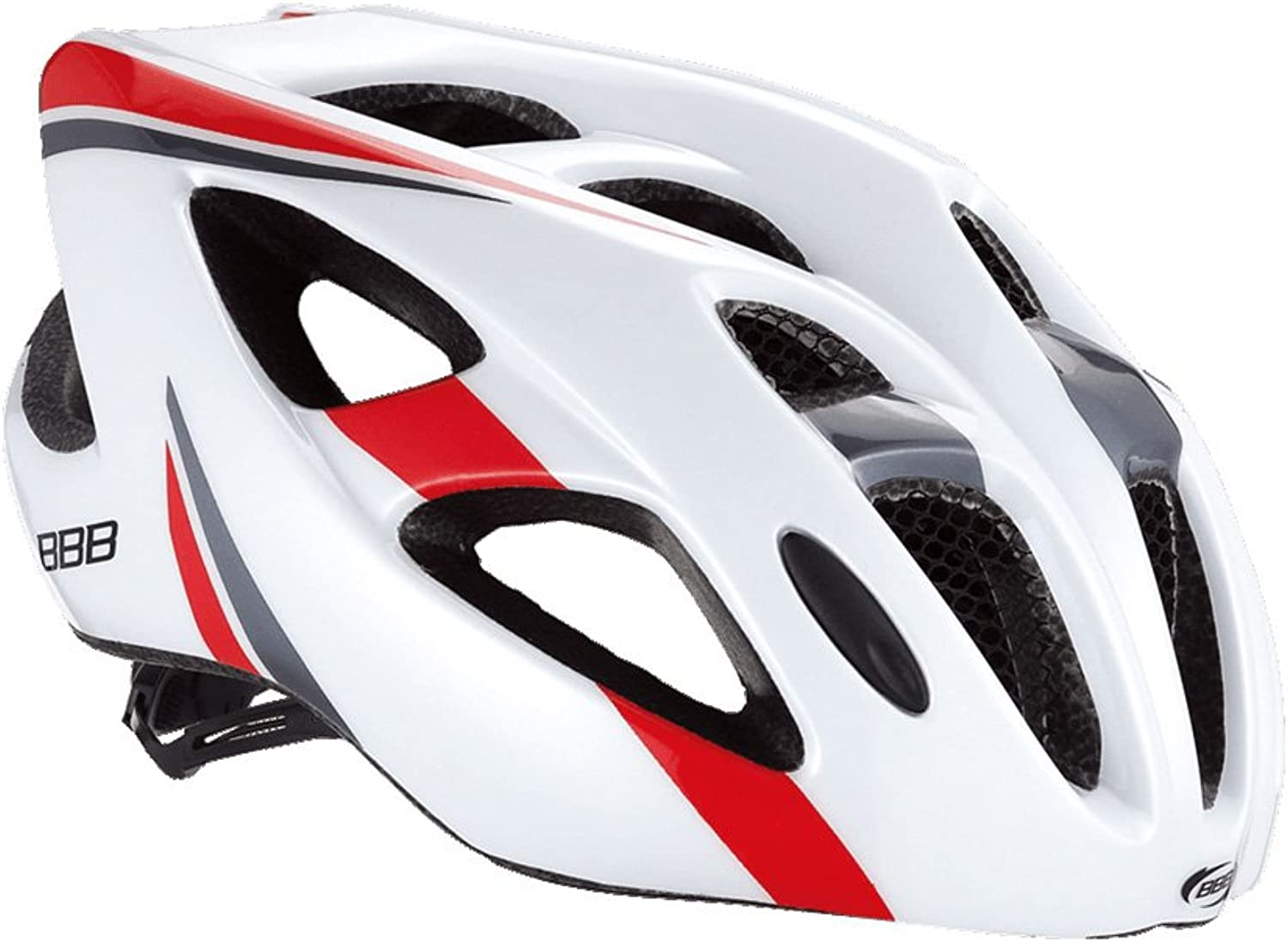 BBB Kite BHE-33 White-Red Helmet 2016