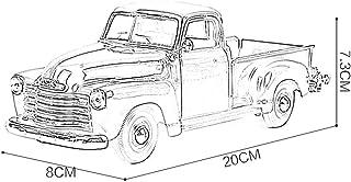 GCM 1:25 Chevrolet 3100 Pickup Alloy Car Model Car Model Simulation Children's Toy Alloy Car 20x8x7.3CM Model Car ( Color : Black )
