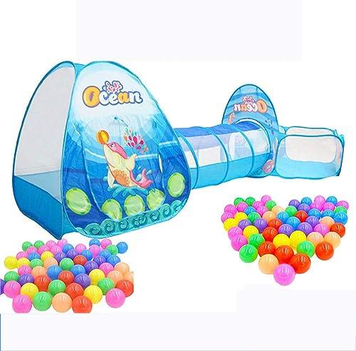 AYUE elttunnel, Indoor Outdoor-Spieletunnel und Spielzelt3 In 1 Kinderspielplatz Baby Kinderspielzeug