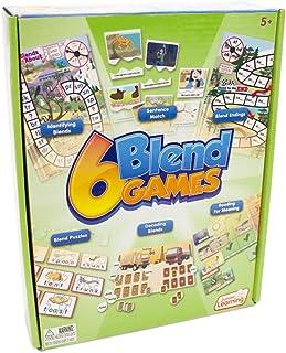 Junior Learning JL410 6 Blend Games