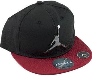04a8357468c Nike Air Jordan Retro Elite Elephant Print Court Cap Black Red Snapback Hat  Youth 8-