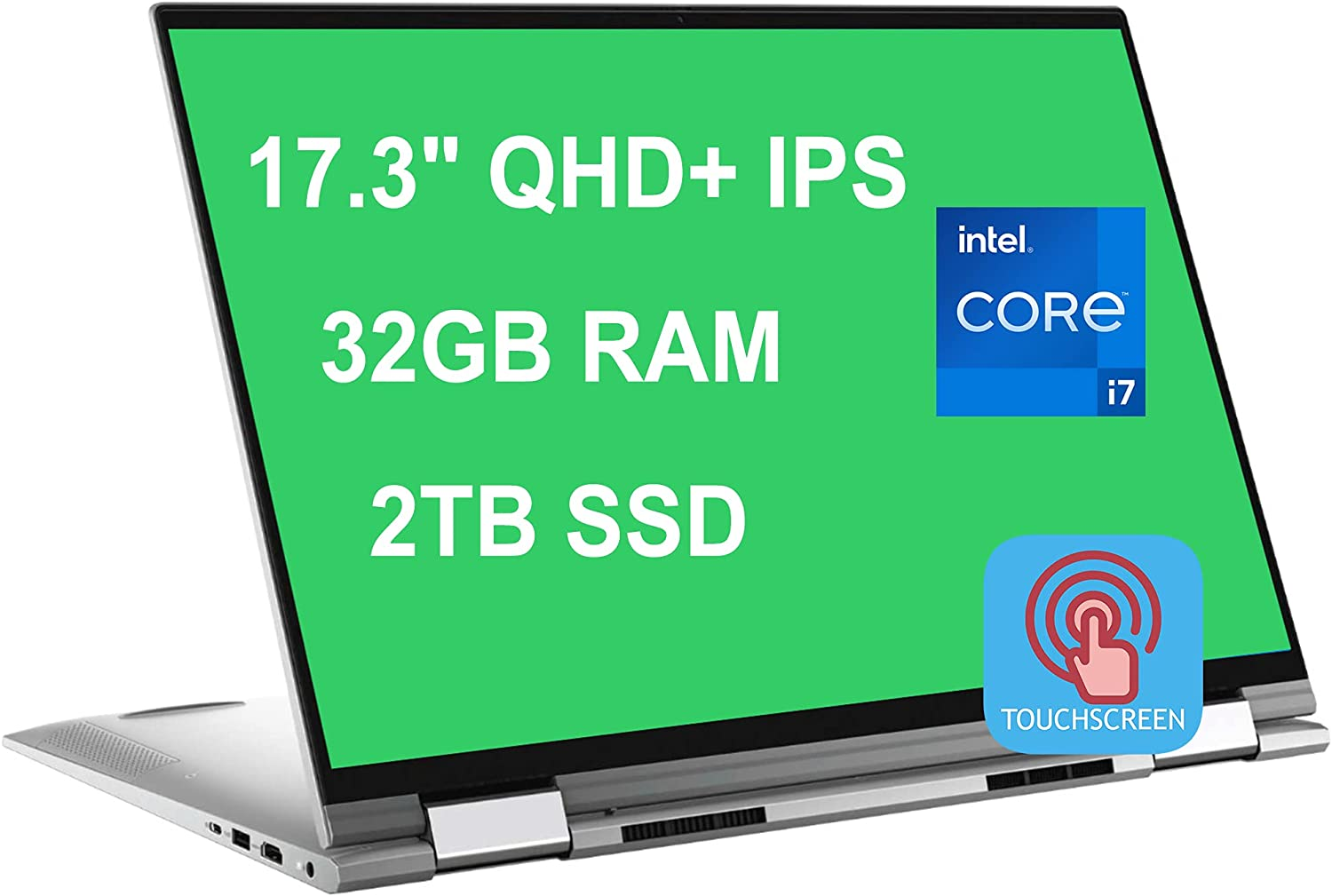 Dell Flagship Inspiron 17 7000 7706 2-in-1 Laptop 17.3