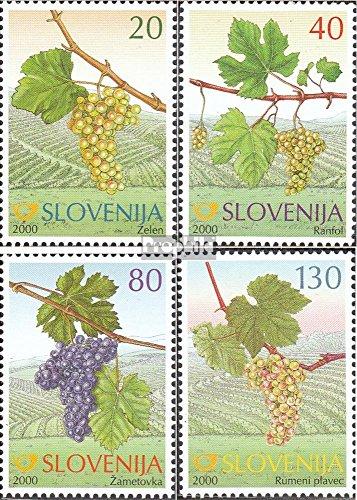 Slovenië Mi.-Aantal.: 320-323 (compleet.Kwestie.) 2000 Oud Druiven (Postzegels voor verzamelaars) plant