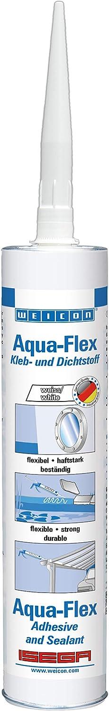 unisex WEICON 13700310 Aqua-Flex 310ml White Elastic Sealing Waterproof Max 69% OFF