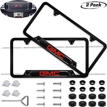 Amazon Com Gmc Eurosport Daytona Compatible License Plate Frame