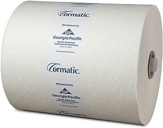 Georgia Pacific Cormatic Paper Roll Towels , White, 6 Per Case