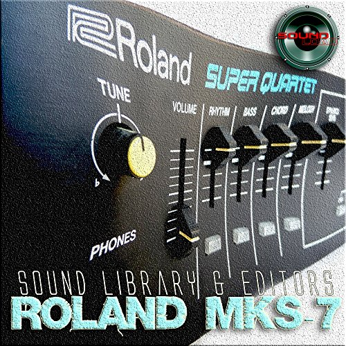 Save %29 Now! for ROLAND MKS-7 Original Factory & NEW Created Sound Library & Editors on CD or downl...