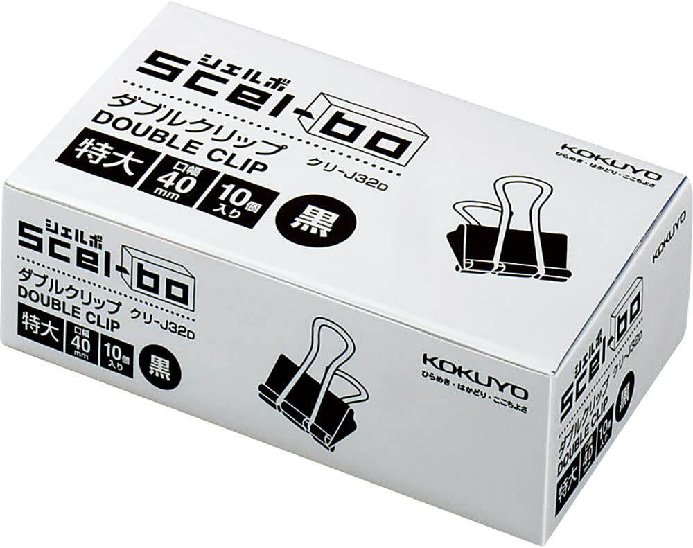 Double Clip Scel-bo Now on sale Size x10boxes Excellence x10peices 40mm