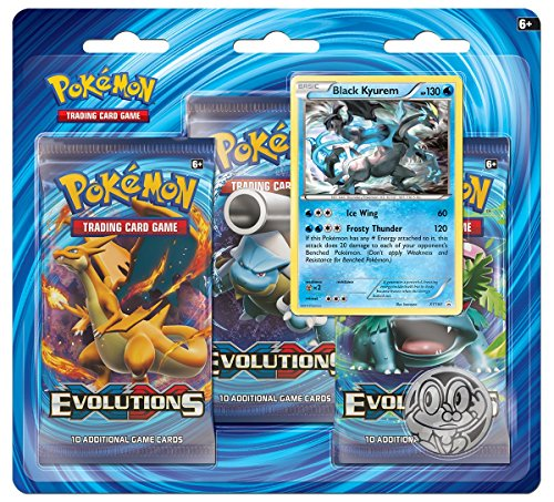Pokemon Blister 3 Pack XY12 Evolutions - English