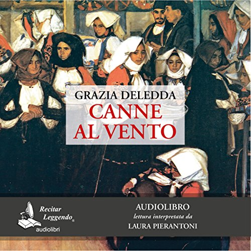 Canne al vento audiobook cover art