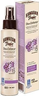 Hawaiian Tropic Duo Defence Refresh solspray, SPF 15, 100 ml, 1-pack (1 x 1 stycken)