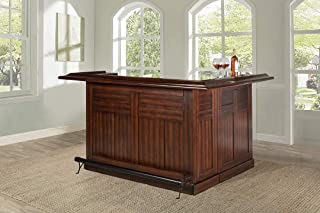 Hillsdale Furniture Hillsdale Classic Side Bar, Large, Brown Cherry