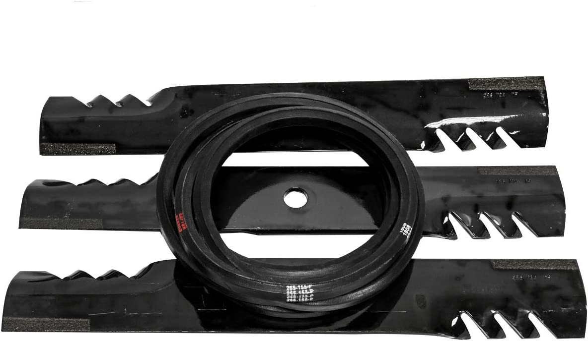 Raptor Mulching Blade Belt Deck 2021new shipping free Kit Compatible with John Popular product Deere 6