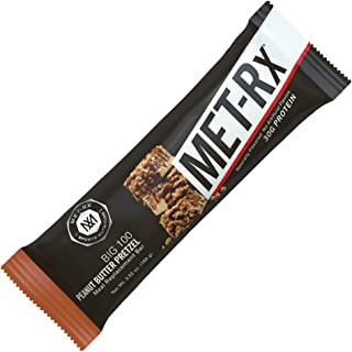 MET-Rx Big 100 Colossal - Peanut Butter Pretzel - Box of 9 - 3.52 oz (100g) bars