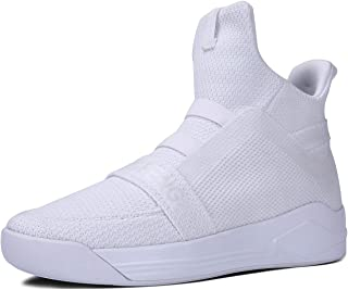 Soulsfeng High Top Running Shoes for Men Lightweight Breathable Mesh Walking Athletic Sneakers