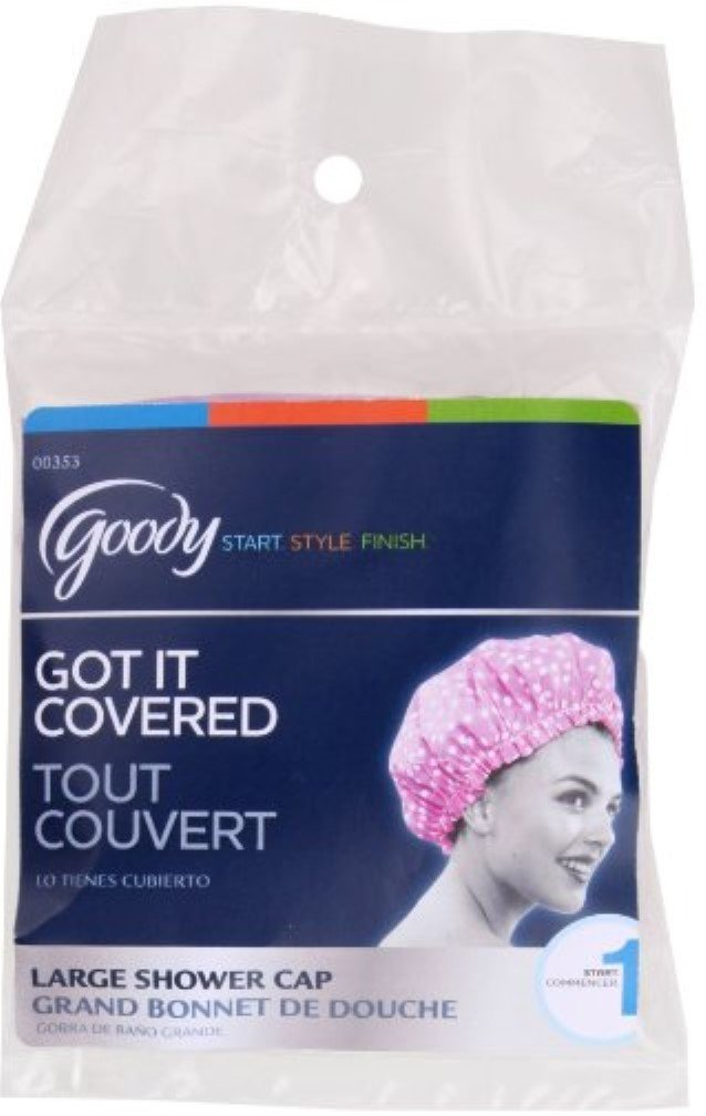 Goody Styling Essentials Shower Cap Colors Pack Cheap mail order sales of ea Vary Spasm price 1 5