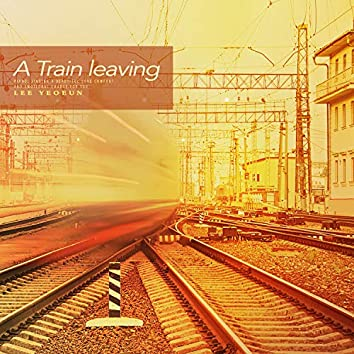 A train leaving