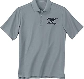 Ford Mustang Embroidered Golf Polo Shirt