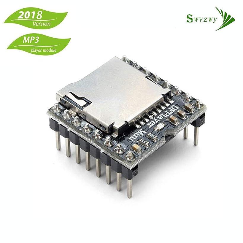 Dfplayer Mini MP3 Player Module for Arduino Voice Module for Arduino DIY DFPlayer Mini Voice Decode Board Supporting TF Card U-Disk IO/Serial Port/AD for arduino DIY Kit
