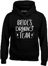 Shop4Ever Brides Drinking Team with Champagne Hoodie Sweatshirts
