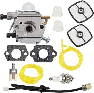 Hayskill PB-200 PB-201 Carburetor with Air Filter Fuel Line Kit for C1U-K78 Echo A021000942 A021000943 PB200 PB201 ES210 ES211 Replace A021000940 Carb