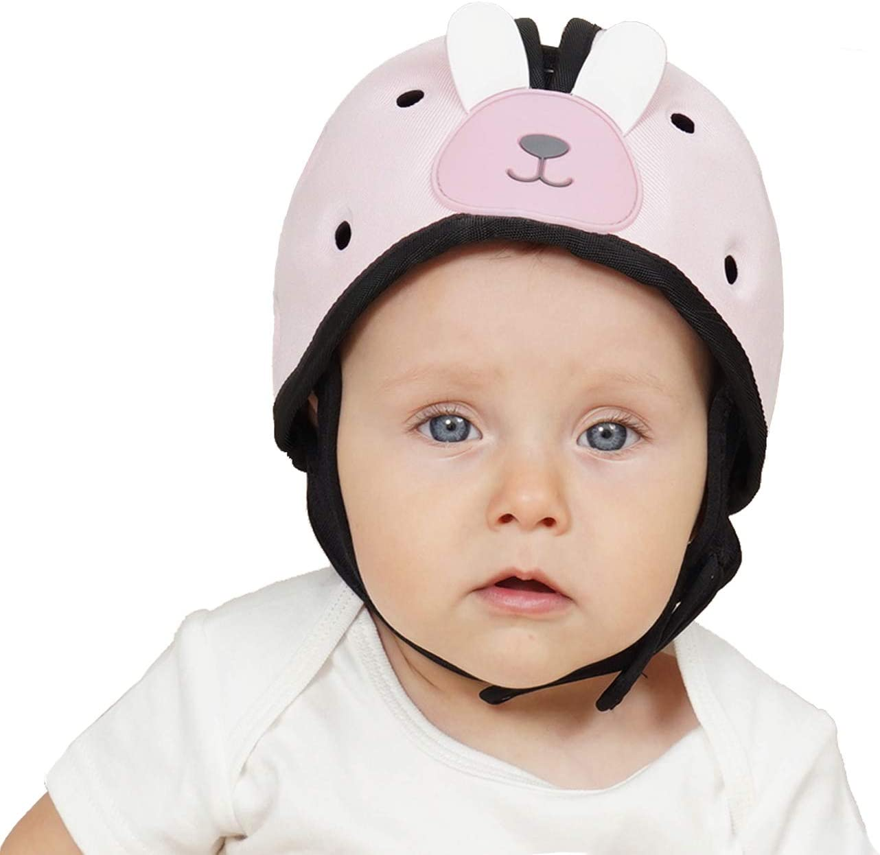 Blue Adjustable Age 6m-2y Infant Soft Helmet Safety Helmet for Toddler Orzbow Baby Head Protector