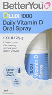Dlux1000 Vitamin D Oral Spray - 15ml