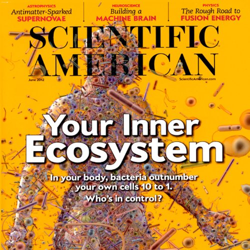 Scientific American audiobook cover art